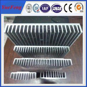 Quality aluminium alloy extrusions supplier, custom aluminium extrusion heatsink manufacturer for sale