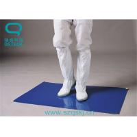 China LDPE Film Material Sticky Mats For Clean Rooms Multiple Color 30 Layers on sale