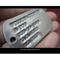 Quality Factory Cheapest Hot plain metal dog tag,promotional dog tag for sale