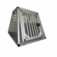 Buy Household Aluminum Dog Cage for Car / Pet Grooming Cage Carrying Case at wholesale prices