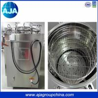 Quality Hot Selling 35L-150L High Pressure Steam Type Autoclave Vertical for sale