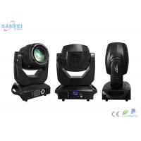 Quality White 150 W LED Spot Moving Head Light / 7 Rotation Gobos + 8 Colors for sale