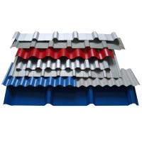 Quality 0.12-2.0mm Thickness SGCC Galvanized Steel Roof Sheet / Colored Metal Tile Roof Shingles for sale