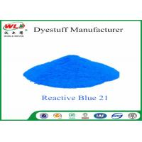 Quality C I Reactive Blue 21 Cloth Colour Dye Turquoise Blue SE Chemicals In Dip Dyeing for sale