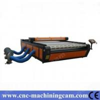 Quality ZK-2030-80W Roller-Roller Textile Fabric Laser Cutting Machine for sale