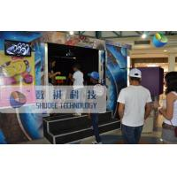 Quality Mobile 6D Movie Theater , 6D Motion Simulators Experience With Fire Effects for sale