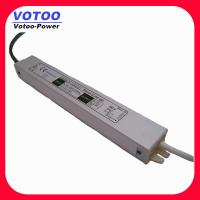 Quality IP67 2A 24W Waterproof Power Supply , 12VDC Power Supply LED Driver Adaptor for sale