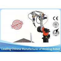 China 6 axis industrial robot welding with laser seam tracking, arc welding robot on sale