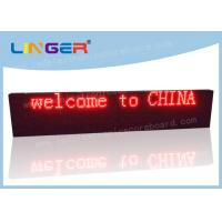 Quality Waterproof LED Scrolling Message Sign 1/4 Scan Constant Current Driver for sale