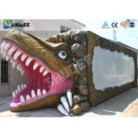 Quality New - style Dinosaur Mobile 5D Cinema Cabin For Amusement Park for sale