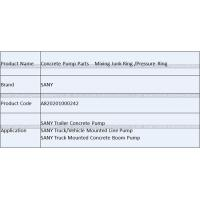 Buy Concrete Pump Spare Parts SANY Mixing Junk Ring Pressure Ring A820201000242 at wholesale prices
