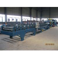 Quality Insulation Sandwich Panel Roll Forming Machine 28KW 3-7m/min for sale