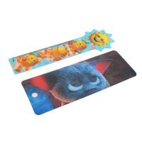 Quality OK3D cheapest high quality  Plastic Lenticular Hang Tag  with string made by UV offset printer for sale