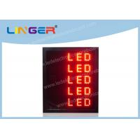 Quality P16MM LED Scrolling Message Sign Electronic Scrolling Message Board 4 Lines for sale