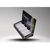 Buy Light weight Table Top Cardboard Retail Display Stands For Electronics Cigaretee at wholesale prices