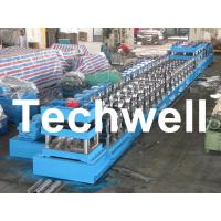 Quality 380V, 3 Phase 50Hz Two Wave Guardrail Roll Forming Machine for Highway Guardrail for sale