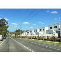 Quality Prefab Townhouse Buildings , Steel Frame Low - Storey Building for sale