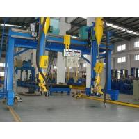 Buy China Automatic H Beam Welding Machine with Lincoln DC-1000 Welder SAW Welding at wholesale prices