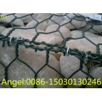 Quality 2X1X1m Hexagonal PVC Coated Gabion /Gabions Box Price16.28$/PC (XM-45) for sale
