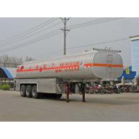Quality 41.2 CBM Chemical liquid semi-trailer for delivery ethyl alcohol CLW9402GHY for sale