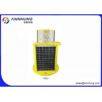 Quality IP67 L864  Type B Double Solar Obstruction Light With  GSM Cellphone Monitoring for sale