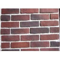 Quality Anti Water Outdoor Fake Brick Wall Covering , Painting Exterior Brick Veneer for sale
