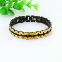 Stainless steel jewelry charms magnetic bracelet ,relief of pain jewelry