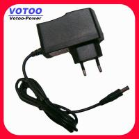 Quality 110V - 240V AC 5V DC 1.2A Wall Mount Power POS Adapter , LED Strip Power Adapter for sale