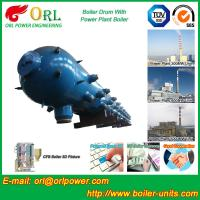 Quality New steam boiler 50 ton stainless steel petroleum industry boiler spare part mud drum for sale