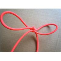 Quality Red Wax Cotton Cord , Waxed Linen Cord Spandex Clothing Accessories for sale