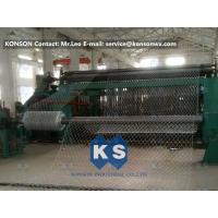 Buy cheap High Efficiency 22kw Hexagonal Gabion Mesh Machine 80x100mm Mesh Size from wholesalers
