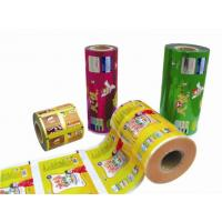 China Flexible Printed Laminated Rolls / Stock For Food Packaging on sale