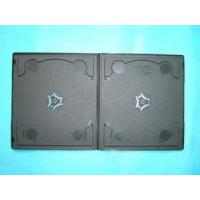 Quality DVD Case DVD Cover 7MM Short Double Black with Design (YP-D813H) for sale