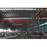 Quality Q235 , Q345 Light Frame Industrial Steel Buildings For Textile Factories for sale