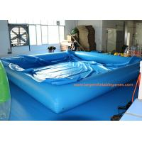 Quality 0.6MM/0.9MM PVC Swimming Inflatable Water Pool / Air Tight Water Pool With Cover for sale