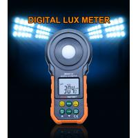Electronic LCD Visible brightness Digital Luxmeter For Factory for sale