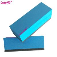 Quality ceramic glass Coating sponge nano glass coat applicator pad car polishing sponge auto detail sponge coating agent sponge for sale