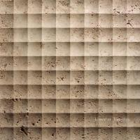 Quality Natural Travertine 3D Feature Wall Art Cladding Textures Tile for sale