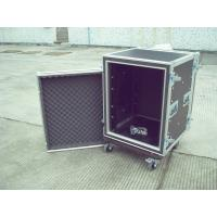 Quality Rack Flight Case 16U Shock Proof  Case 9mm Plywood With 1mm Color Fireproof Wood for sale
