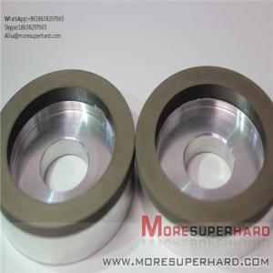 Quality 6A2 The resin bond diamond is easy to dress the superhard diamond grinding wheel  Alisa@moresuperhard.com for sale