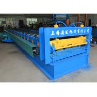 Quality Metal Profile 915 Floor Deck Roll Forming Machine 22kw Power 0.6mm - 1.5mm Thickness for sale