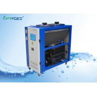 Quality 8 HP Double Condenser Portable Water Chiller Units Water Cooled Ac Unit 380V for sale