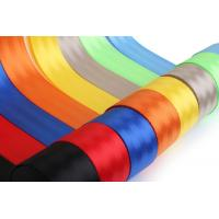 Quality 10 Meters Roll Car Safety Seat Belts 4.5 - 5cm Width For Protect The Passengers for sale