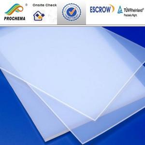 Quality PCTFE sheet, pctfe glass fiber coated sheet for sale