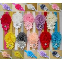 Quality baby headbands Baby Headwear Children Flower Pearl Infant Toddler Girl Headband Clips Hair for sale