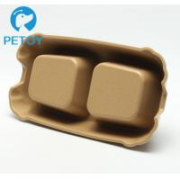 Buy Commercial Double Bamboo Dog Feeder Customized Size Long Service Life at wholesale prices