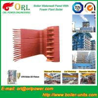 Quality Condensing Gas Boiler Water Wall Panels , Boiler Membrane Wall Tube for sale