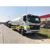 Quality SINOTRUK WHITE HOWO A7 6X4 OIL TANK TRUCK LHD ZZ1257N4347N1 NEW for sale