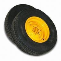 Quality Trailer Wheels and Rims, Tires Can be Mounted as Assembly, Made of Steel for sale