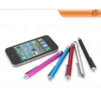 Buy High quality Capacitive stylus touch pen, aluminium stylus pen for iPhone 4S (custom) at wholesale prices